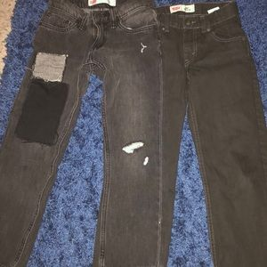 Boys Levi Jeans (2) 1 worn once, other never worn